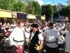 Gemütliches Beisammensein am Karlsplatz