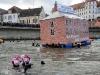 Unser neues Vereinsheim schwimmt am Donaukai