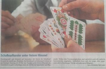 Zeitungsartikel der Neuburger Rundschau (21.07.2012)
